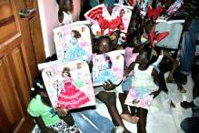 Children's New Year Haiti