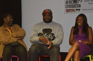 l-r: Kwaku, DJ Ace, Remel London