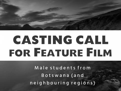 casting call male Botswana
