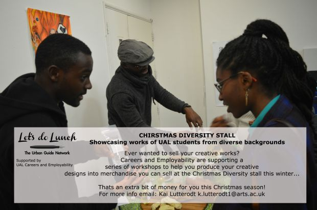 Diversity Christmas stall